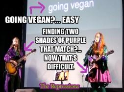 going vegan is easy